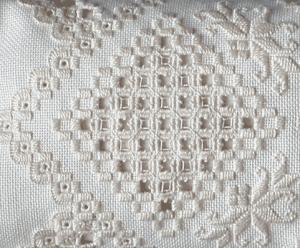 Norwegian Hardanger embroidery