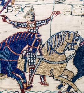 Bayeux Tapestry - Scenes 55 & 56