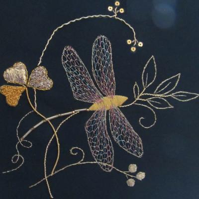 Goldwork and Irish Lace workshop