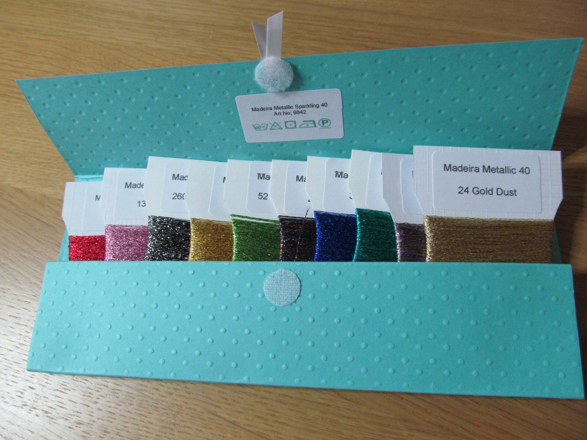 Madeira Sparkling Metallics Pack 1