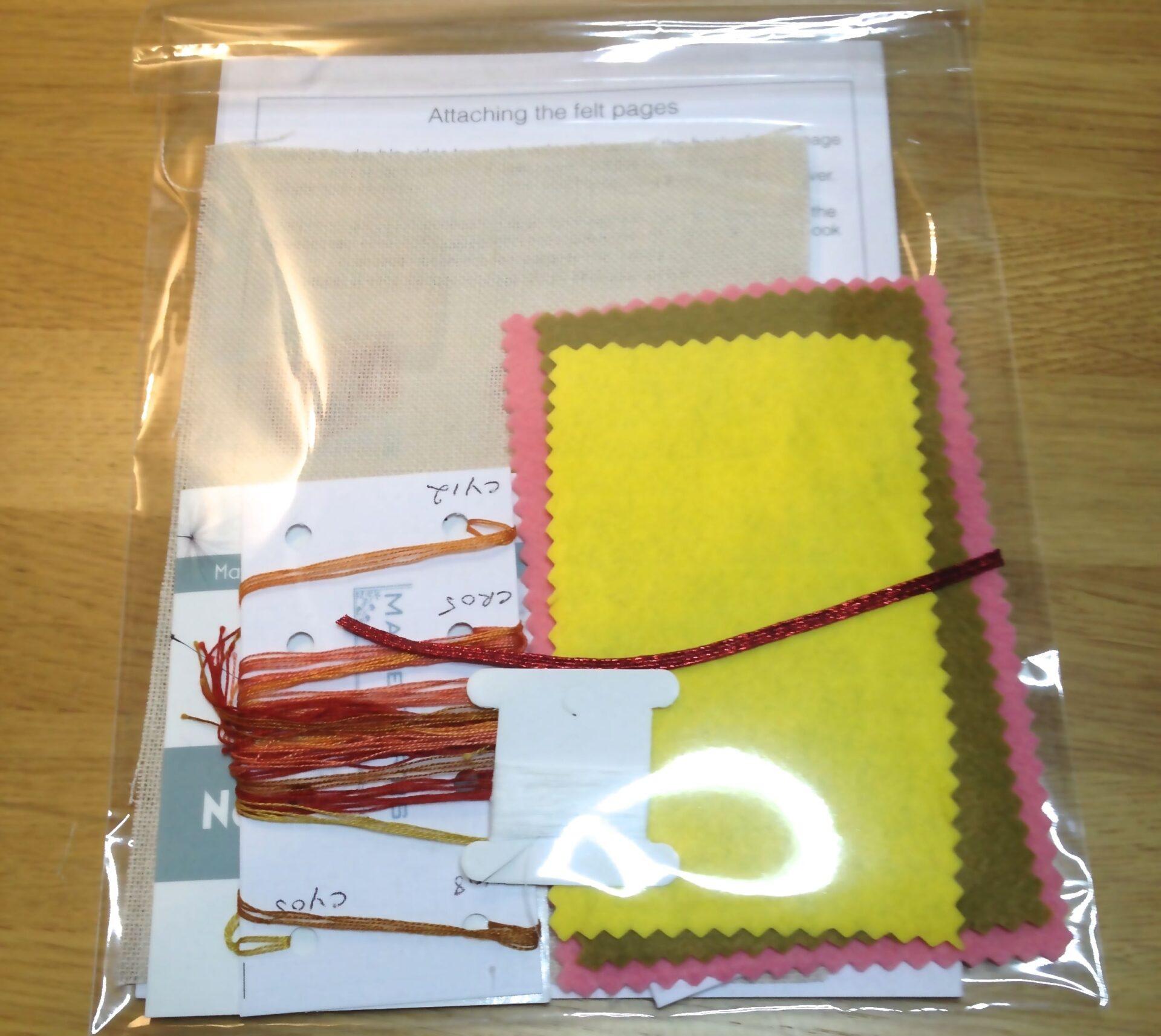 Kogin Needle Case Embroidery Kitkit