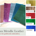 New Faux Leather Colours