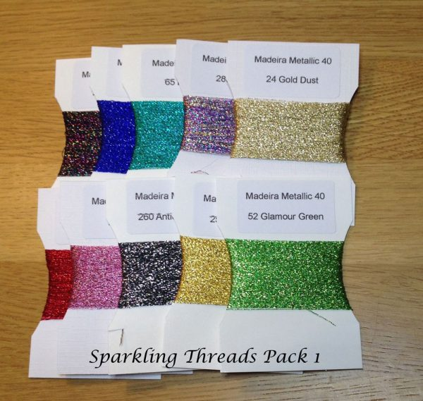 Sparkling Embroidery Thread pack 1