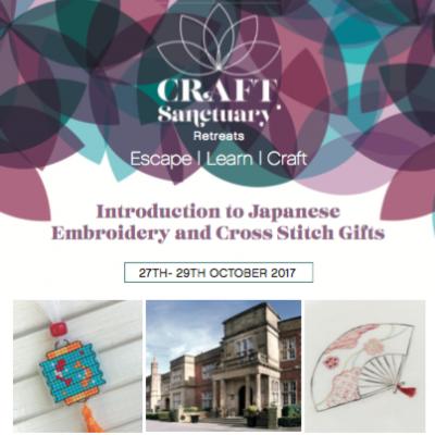 Craft Sanctuary Retreat Goes Japanese
