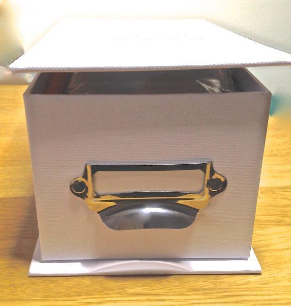 Goldwork Box front
