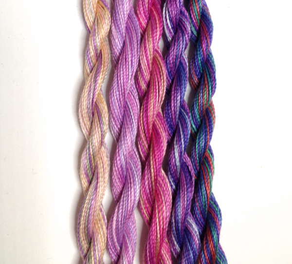 Violet and Pinks pack